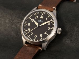 ARISTO 7H96, vintage 47 pilot Aviator watch, Automatic, 47 mm – Bild 4