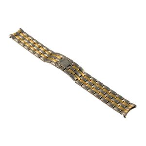 NIVREL metal strap stainless steel bicolor