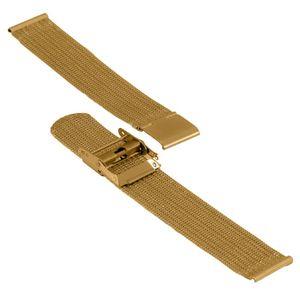SOC Milanaise strap, H 1,5 mm, W 20 mm, gold, 2908 – Bild 3