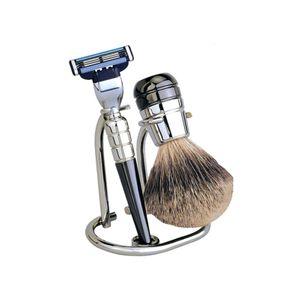 Erbe Solingen Shaving Set 6230, Gilette MACH 3, silver metallic – Bild 1