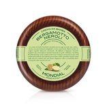 Mondial Rasiercreme, Bergamotto Neroli, Holzschale 001