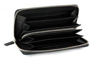 Bugatti Atlanta zipper-women purse, black, BU49320801 – Bild 2