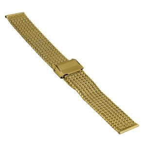 SOC Milanaiseband, H 1,9 mm, B 18 mm, gold, 2910