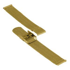 SOC Milanaise strab, H 1,5 mm, W 18 mm, gold, 2908  – Bild 3