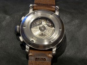 ARISTO 7H186, vintage aviator-chrono watch, 7H186, ETA Valjoux 7750 – Bild 4