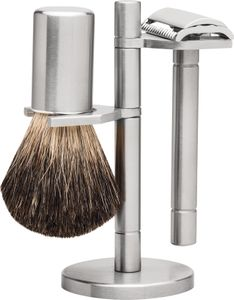 Erbe Solingen Shaving Set 8226, Tradition, stainless steel