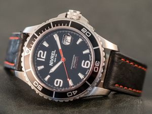 NIVREL Red Voyager, Dive watch, Automatic, Ref. N 148.001 – Bild 1