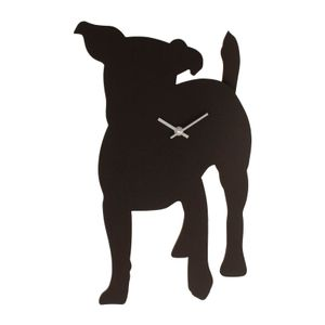 Wall clock, different animal motifs with wagging tail – image 4