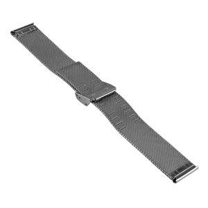 SOC Milanaise Uhrenband / Meshband, H 1,5 mm, B 20 x 20 mm, 2904, Stahl – Bild 3