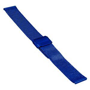 SOC Milanaiseband, H 1,9 mm, B 20 mm, blau, 2905 – Bild 1