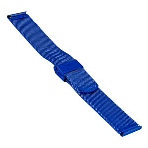 SOC Milanaiseband, H 1,9 mm, B 20 mm, blau, 2905 – Bild 2
