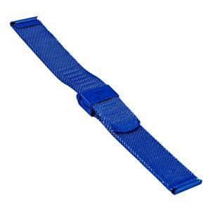 SOC Milanaise strap, H 1,9 mm, W 20 mm, blue, 2905 – Bild 2