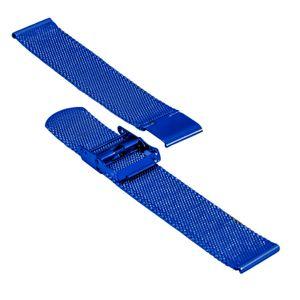 SOC Milanaiseband, H 1,9 mm, B 20 mm, blau, 2905 – Bild 3
