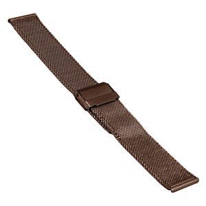 SOC Milanaiseband, H 1,9 mm, B 20 mm, braun, 2905 – Bild 1