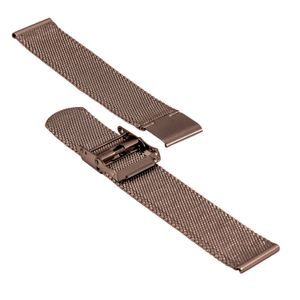 SOC Milanaise strap, H 1,9 mm, W 20 mm, brown, 2905 – Bild 3