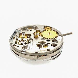 Watch movement ETA 7750, Automatic, Chronograph, Swiss Made, engraved, 2nd time zone – Bild 2