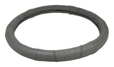 Lenkradbezug Leder Imitat | Grau 37-39 cm