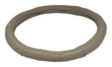 Lenkradbezug Beige | Leder Imitat 37-39 cm