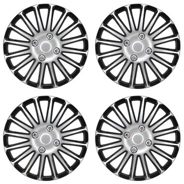 Radkappen Set Silver-Spin in 15 Zoll – Bild 2