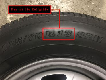 Radkappen Set Spike in 13 Zoll – Bild 4