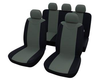 Autositzbezüge Universal Grau Schwarz