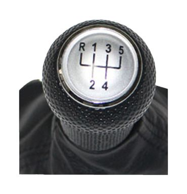 Schaltknauf Schaltsack 5 Gang Knauf für VW Golf 4 IV, Bora 12mm Schaltmanschette – Bild 2