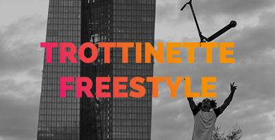 Trottinette freestyle
