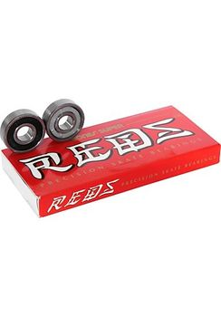 Bones Bearings 8er Set   Super Reds