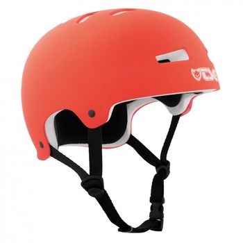 TSG Helm Evolution-Pro-solid flat-bright-coral L/XL