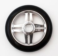 Zkoot 125 mm four spoke wheel black/raw