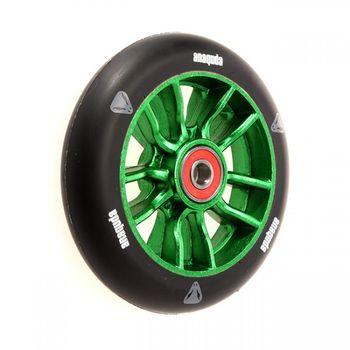 Anaquda U-Shape wheel 110mm black/green inkl. Kugellager