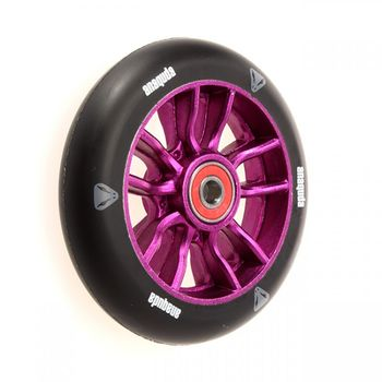 Anaquda U-Shape wheel 110mm black/purple inkl. Kugellager
