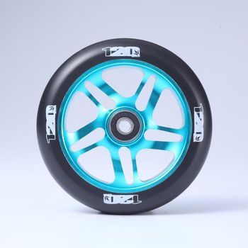 Blunt 120mm wheel teal/black