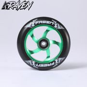 Fasen Raven 110mm wheel Black/Green