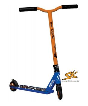 Bestial Wolf Stunt Scooter Demon D2 blue/orange