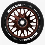 metalcore wheels Johan Walzel sign. 110 mm darkbronze