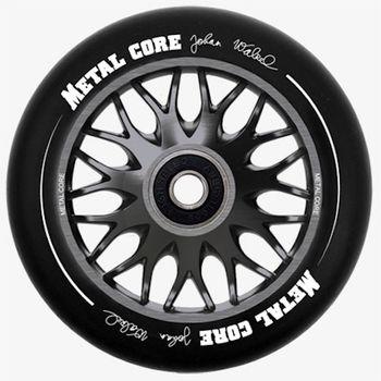 metalcore wheels Johan Walzel sign. 110 mm titanium