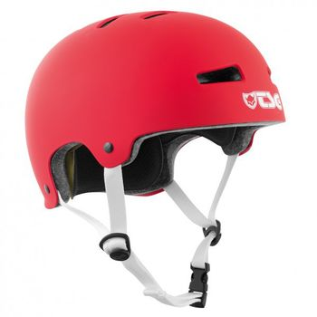 TSG Helm Evolution-Pro-solid L/XL fire-red