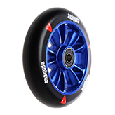 Anaquda engine spoked wheel inkl. ABEC 9 Lager 110 mm black/blue