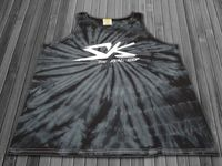 S-K TyeDye Batik Tank Top Shirt black in L