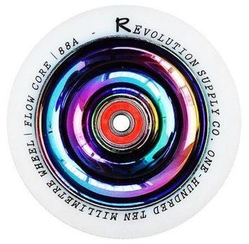 Revolution fullcore wheel 110mm white neochrome
