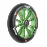 Anaquda engine spoked wheel inkl. ABEC 9 Lager 120 mm black/green