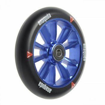 Anaquda engine spoked wheel inkl. ABEC 9 Lager 120 mm black/blue