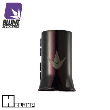 Blunt Clamp H - SCS Black/Chrome