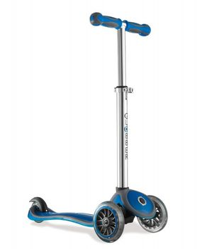 Globber Free Kids 3-Wheels bi-inject Black/Blue