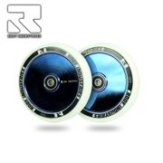 Root Industries Air 110 mm Wheels white/blue ray (Pair)