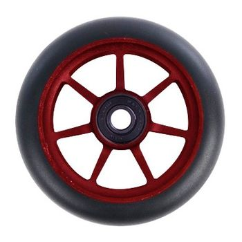 Ethic DTC Wheel   Incube   100mm black/red