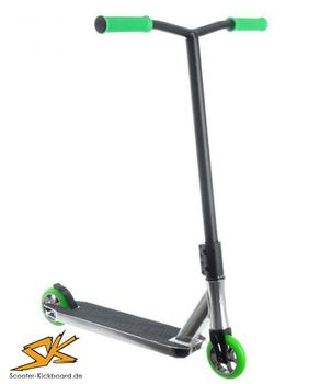 Anaquda Complete Scooter PARK silver/green
