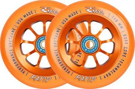 River Wheels Rapids Rollen 110mm Orange (paar)