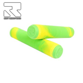 Root Industries AIR grips - Green/Gold